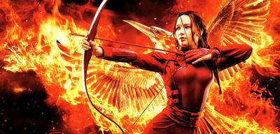 Jennifer Lawrence in den Hunger Games-Filmen