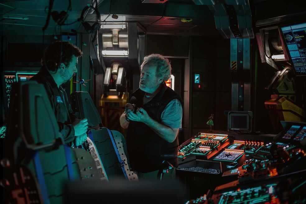 Alien: Covenant mit Ridley Scott und Danny McBride