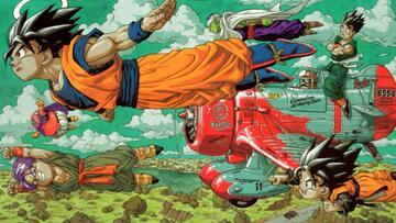 Son-Goku, seine Söhne und seine Freunde