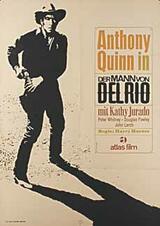 Der Mann von Del Rio - Poster