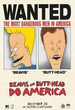 Beavis & Butt-head machen's in Amerika Poster