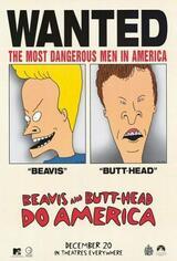 Beavis & Butt-Head machen's in Amerika - Poster