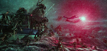 The Trench attackiert Aquaman und Mera