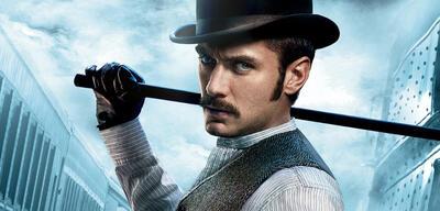 Jude Law als Watson in Sherlock Holmes