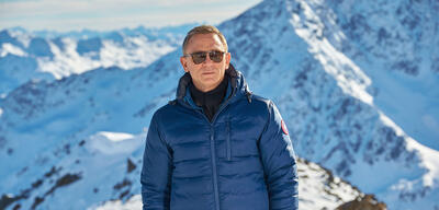 Daniel Craig am Set vonJames Bond 007 - Spectre