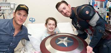 Bild zu:  Captain America & Peter Quill zu Besuch