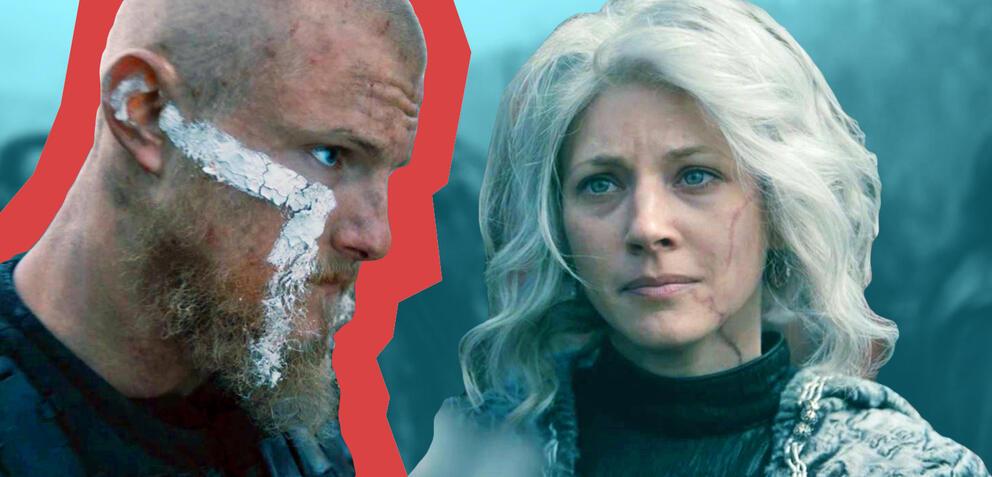 Björn und Lagertha in Vikings Staffel 5