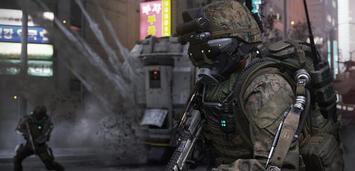 Bild zu:  Fortgeschrittene Kriegsführung = Exo-Suit