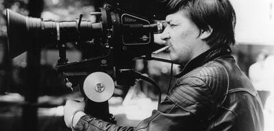 Rainer Werner Fassbinder in Aktion