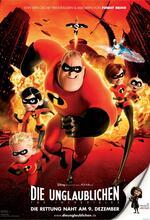 Die Unglaublichen - The Incredibles Poster