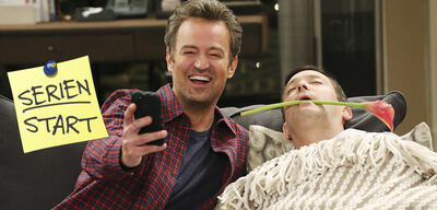 Matthew Perry und Thomas Lennon in The Odd Couple