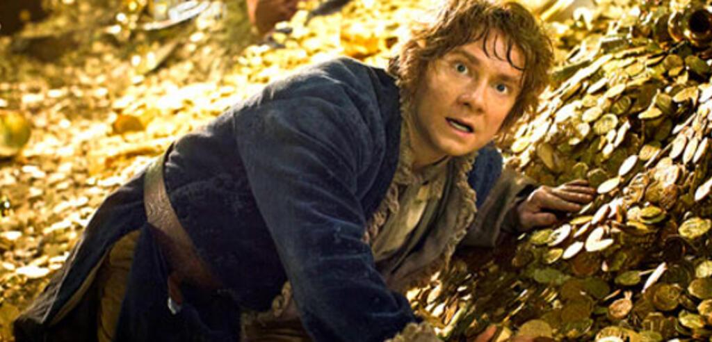 Der Hobbit schwimmt im Geld