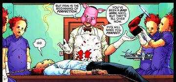 Professor Pyg in einem Comic