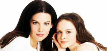 Lauren Graham und Alexis Bledel in Gilmore Girls