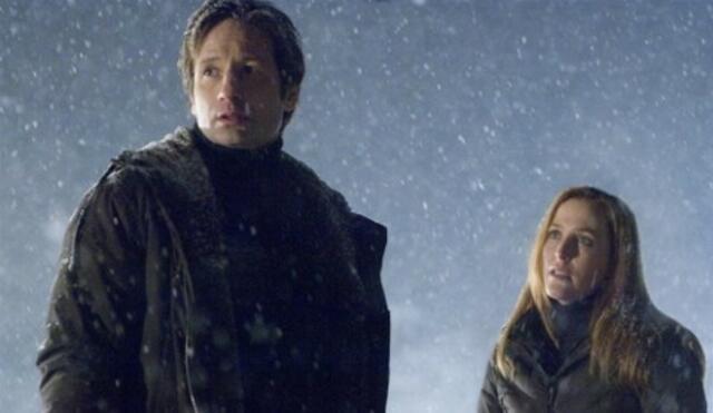 David Duchovny und Gillian Anderson in Akte X - Jenseits der Wahrheit
