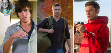 Bild zu:  Zac Efron in 17 Again, The Lucky One und Baywatch