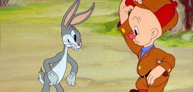 Bugs Bunny in seinem Kurzfilmdebüt A Wild Hare