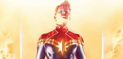 Captain Marvel - Variant Cover von Alex Ross