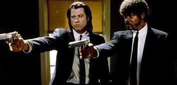 Bild zu:  John Travolta und Samuel L. Jackson in Pulp Fiction