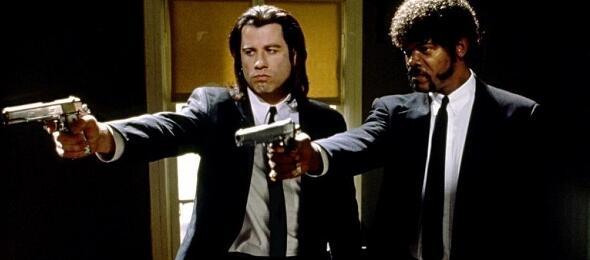 John Travolta und Samuel L. Jackson in Pulp Fiction
