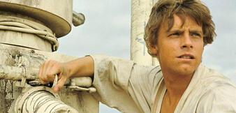 Luke Skywalker in Krieg der Sterne