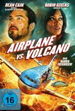 Airplane vs. Volcano Poster