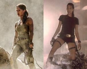 Alicia Vikander vs. Angelina Jolie