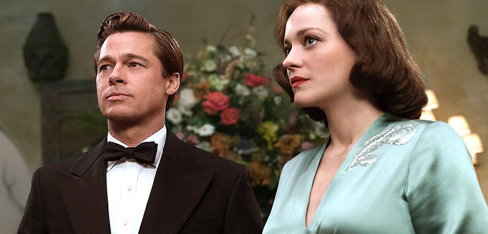 Allied Langer Trailer Zum Spionage Drama Mit Brad Pitt Marion