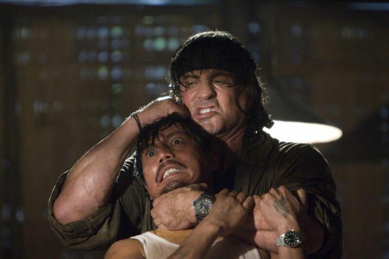 John Rambo mit Sylvester Stallone