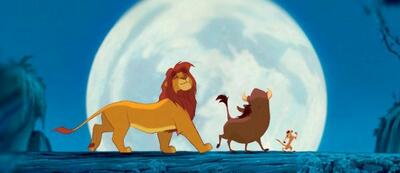 Der König der Löwen ist zurück auf seinem Thron