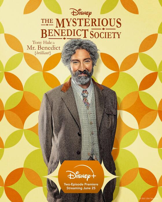 Die geheime Benedict-Gesellschaft, Die geheime Benedict-Gesellschaft - Staffel 1 mit Tony Hale
