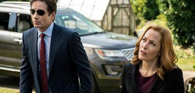 Mulder und Scully nehmen die Witterung auf