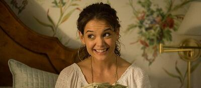 Da hat sie noch lachen: Katie Holmes in Mad Money