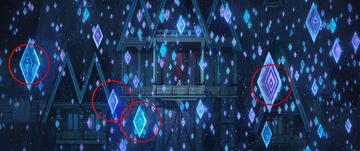 Frozen 2: Alle vier Eiskristall-Muster