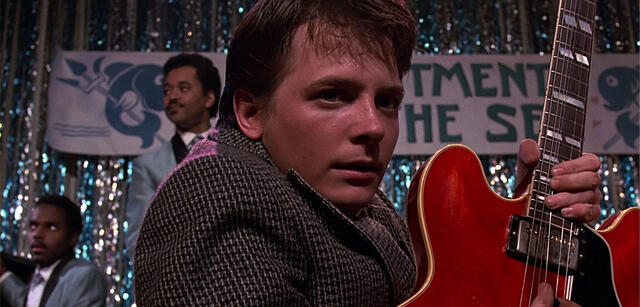 Michael J. Fox in Zurück in die Zukunft