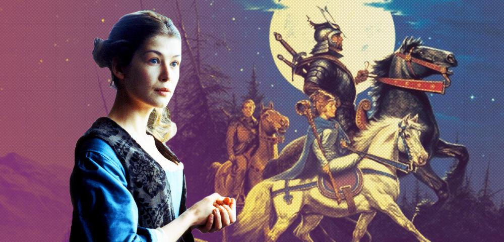 The Wheel of Time mit Rosamund Pike - Alles über Amazons große neue Fantasyserie