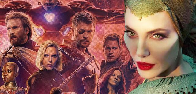 Angelina Jolie in Maleficent 2 und die Avengers