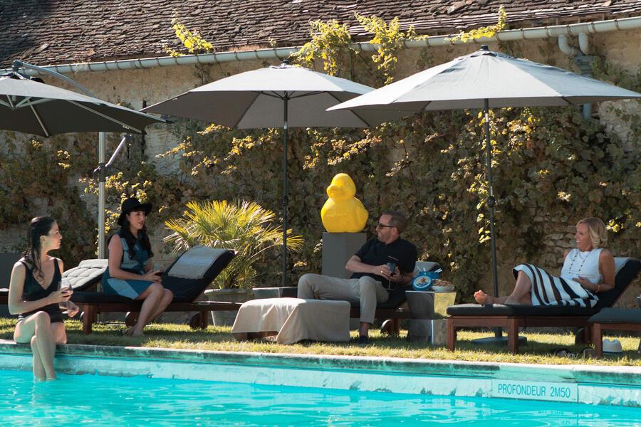 Madame mit Toni Collette, Rossy de Palma und Michael Smiley