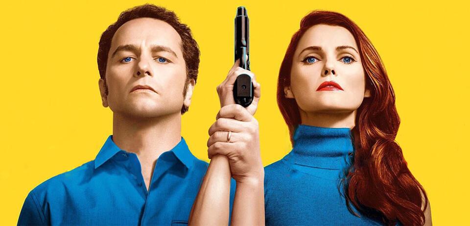 The Americans: Matthew Rhys & Keri Russell