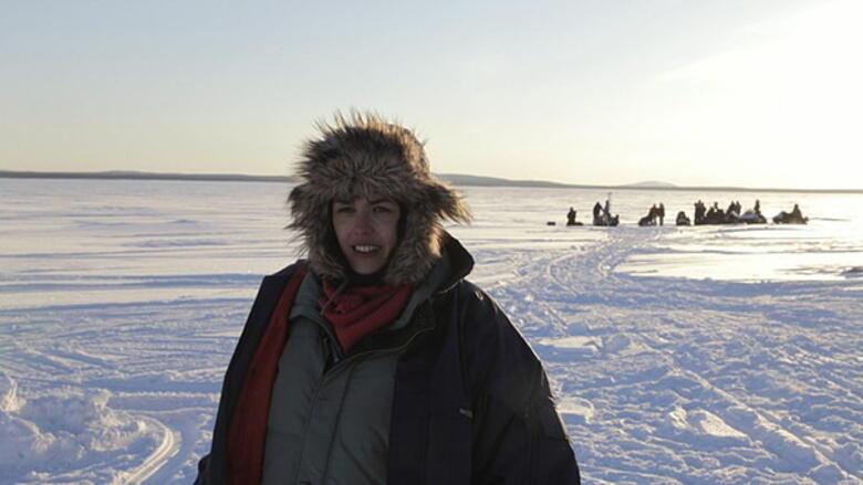 Mädchen im Eis