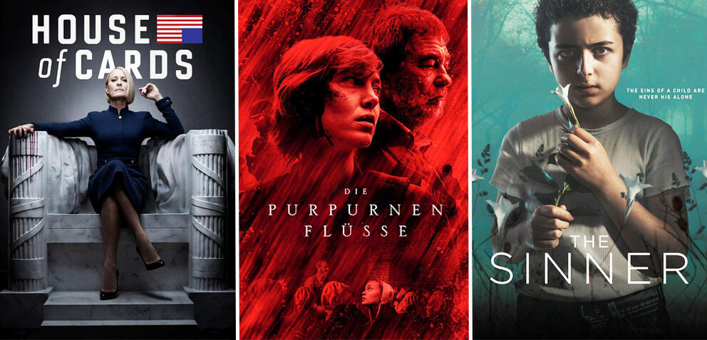 House of Cards/Die purpurnen Flüsse/The Sinner