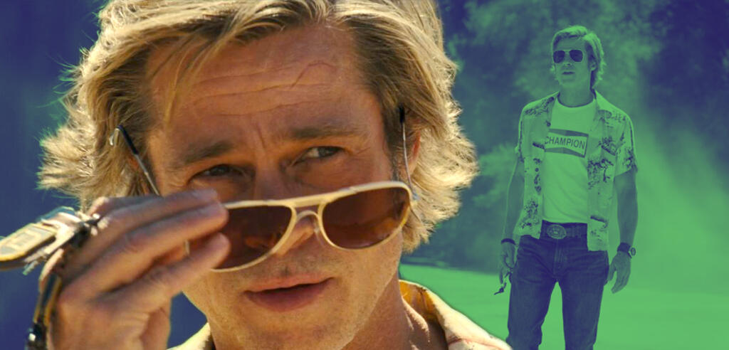 Brad Pitt inOnce Upon a Time ... in Hollywood