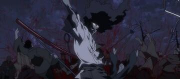 Afro Samurai tut das, was er am besten kann.