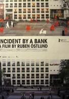 Zwischenfall vor einer Bank