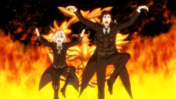 Ciel und Sebastian machen den Phönix