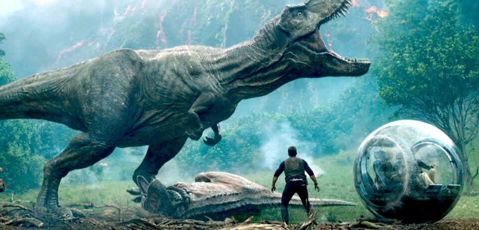 Jeff Goldblum in Jurassic World 2