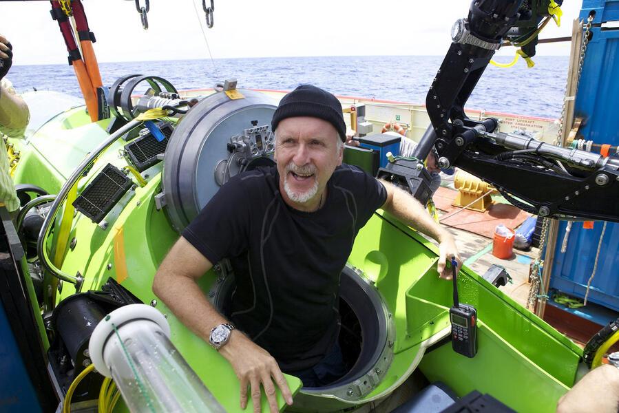 Deepsea Challenge 3D mit James Cameron