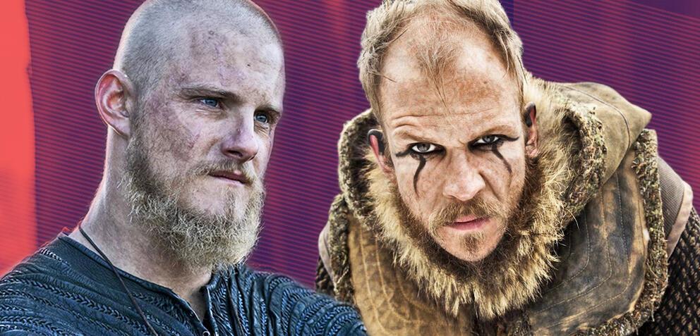 Vikings: Björn und Floki