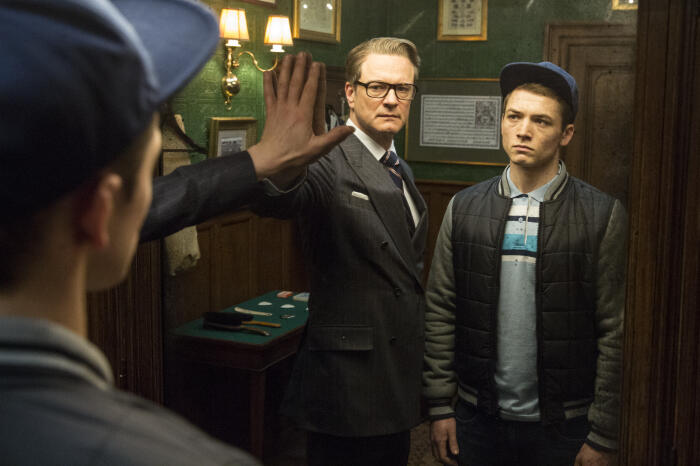 Kingsman: The Secret Service mit Colin Firth und Taron Egerton