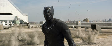 T'Challa in The First Avenger: Civil War